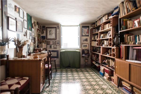 Aliminusa, la camera da letto del Poeta Battaglia