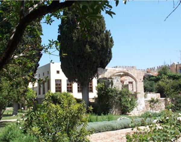 Fondation Marc de Montalembert, il giardino di Rodi