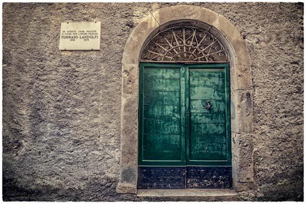 Paesaggio culturale italiano parchi letterari - Entrata di casa ...