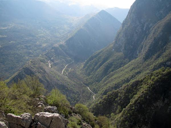 Castrovalva dal Monte Mezzana